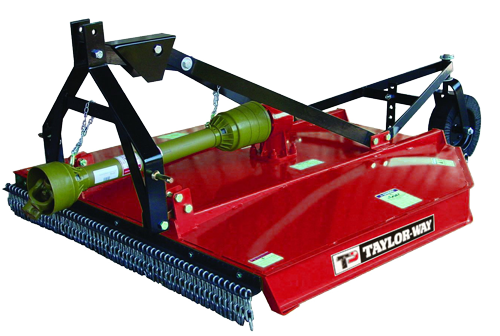 233 series flex domed deck rotary cutter