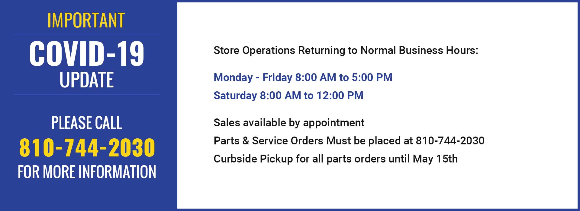 Store Hours: