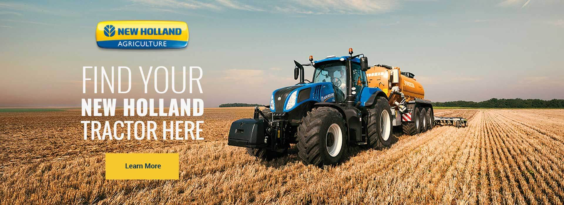 Find your New Holland at Flint New Holland